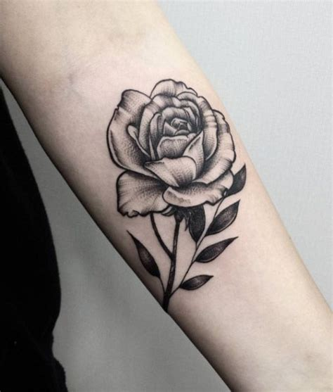 rose tattoo on stomach 40 blackwork tattoos you ll instantly