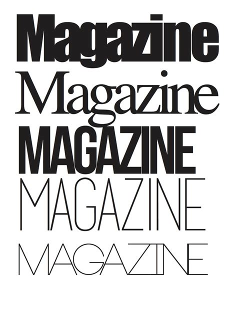 magazine layout fonts adobe indesign and elements of a successful design katy