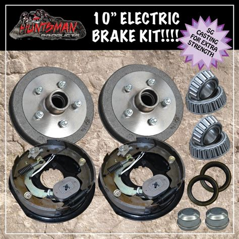 Electric Brake Systems For Trailers 10 Quot Trailer Electric Brake Kit Caravan Boat Cer Trailers