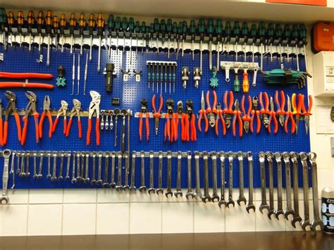 pegboard ideas for tools pegboard diy kitchen garage anyone hang their tools on pegboard page 2 the garage