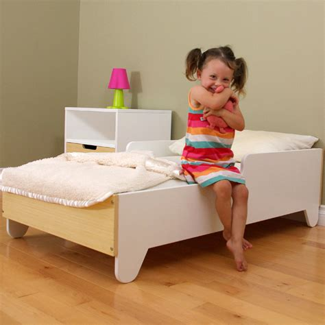 The Toddler Bed by Hiya Toddler Bed By Spot On Square Rosenberryrooms