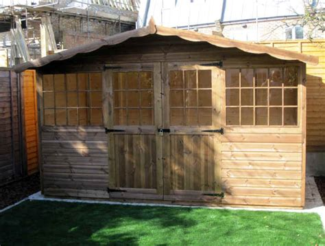 Garden Shed 12x8 by Georgian Chalet Style Garden Shed 12 X 8 By Sheds Unlimited