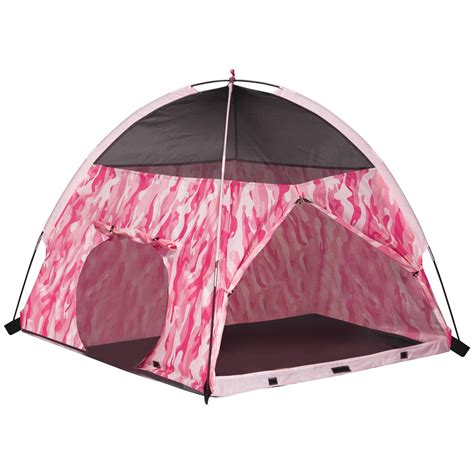 play tents for pacific play tents pink camo tent tunnel combo 514849 toys