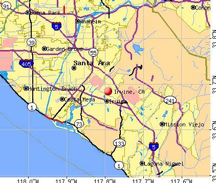 california map irvine ca irvine california map
