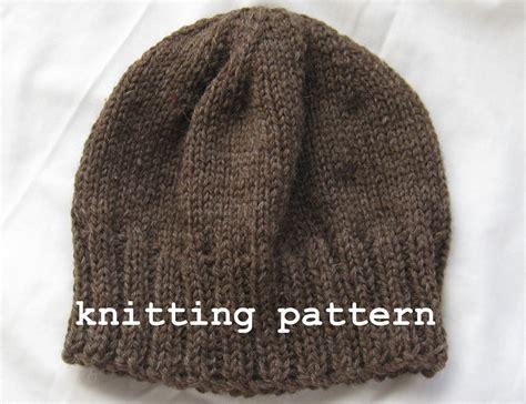 pattern knitting beanie knitting pattern pdf men s winter beanie
