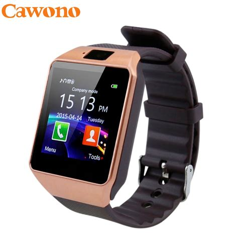 Smart Dz 09 Bluetooth cawono dz09 bluetooth smart smartwatch relogios tf sim card for iphone