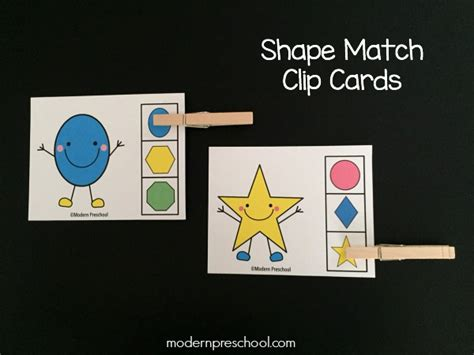 Match Com Gift Card - shape match clip cards