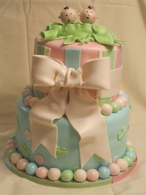 two peas in a pod baby shower cake cakes or something like that two peas in a pod shower cake