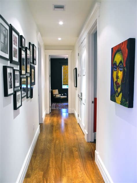 Modern Home Design Houzz Hallway To Bedrooms Contemporary Hall Miami By B