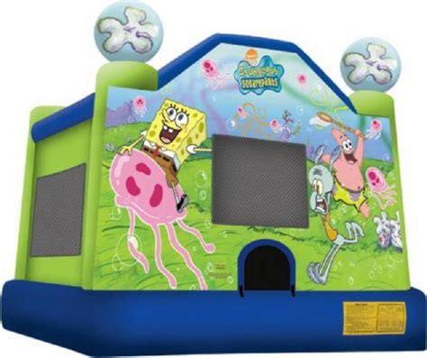 house of bounce mobile al spongebob bounce house inflatable rentals mobile al where to rent spongebob bounce