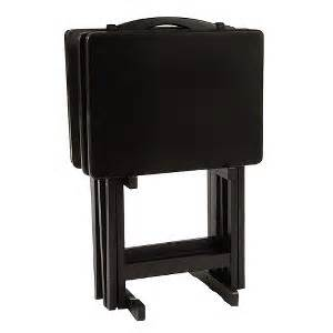 target tv trays solid wood 5 tv tray set black pdg 174 tyxgb76aj quot gt this colors and i want