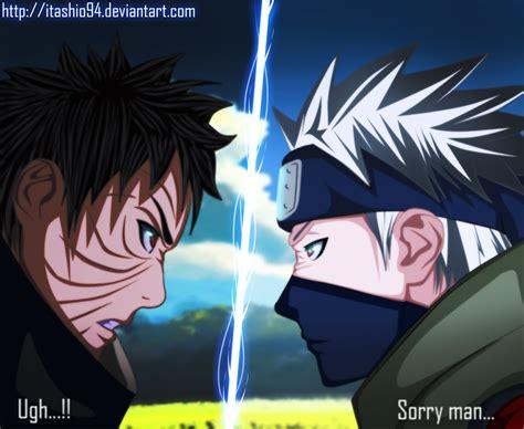 anime vs obito s chakra fades rin s sacrifice on kakashi obito