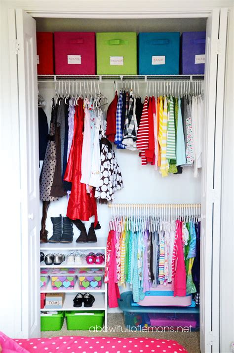 organizing a closet kids closet organization ideas design dazzle
