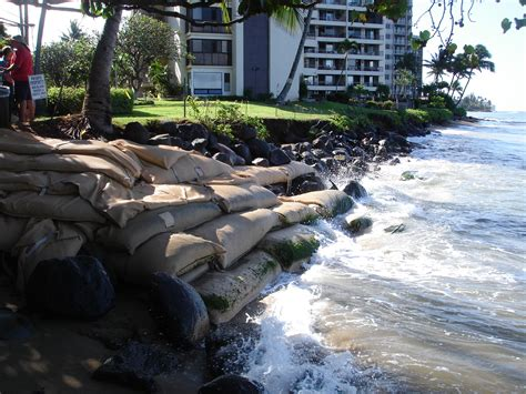 retreat from a rising sea choices in an age of climate change books sea level rise drives shoreline retreat in hawaii