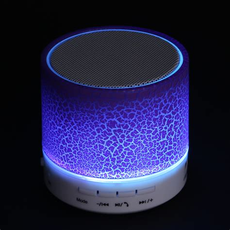 Speaker Musik Mini bluetooth lautsprecher mini speaker musik box usb aux soundbox mit led ebay