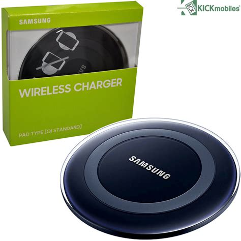 new samsung wireless charger pad type black ep pg920ibegww original ebay