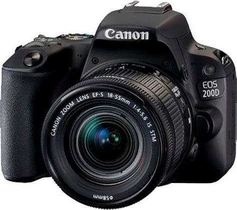 Kamera Canon Eos 1100d Ef S 18 55 Is Ii canon eos 200d spiegelreflex kamera ef s 18 55mm f 4 5 6 is stm zoom 24 2 megapixel