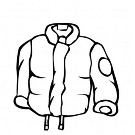coloring page winter jacket the best place for coloring page at coloringsky part 54
