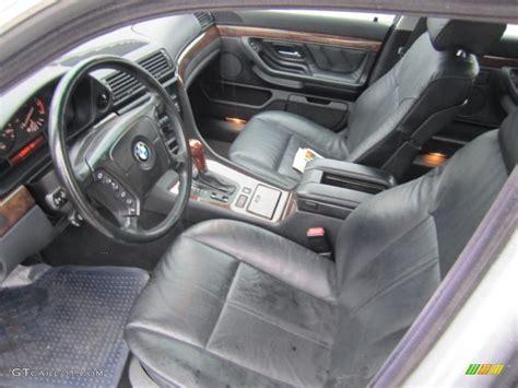 black interior 1999 bmw 7 series 740il sedan photo