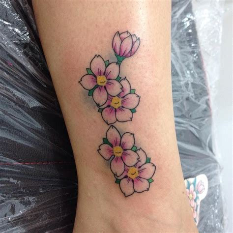 cherry blossom ankle tattoo designs 30 fantastic japanese cherry blossom designs