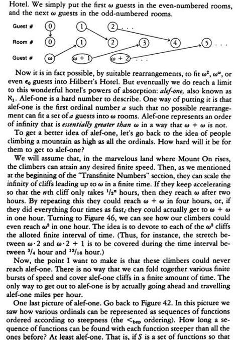 different infinities types of infinities discrete nonsense