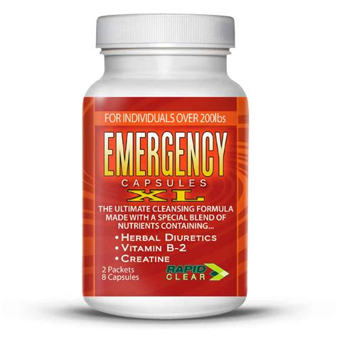 Emergency Detox Capsules Xl by Wholesale Detox Pills