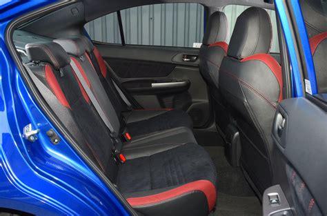 subaru wrx seats subaru wrx sti review 2018 autocar