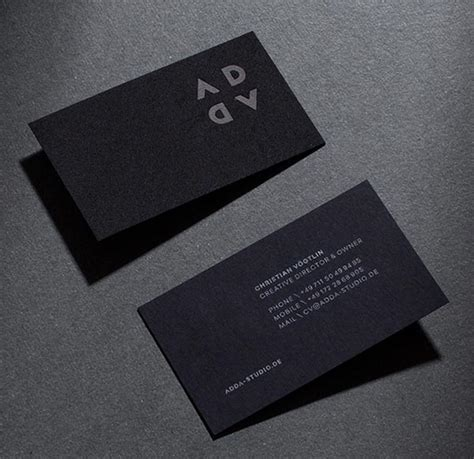 Business Card Name Ideas 20 simple yet modern visit name card design ideas for 2016