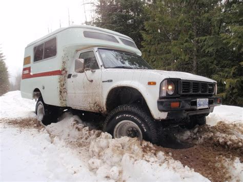 Toyota Chinook 4x4 1976 Toyota Chinook Shell On A 1980 Toyota Longbed 4x4