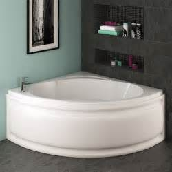 Corner Shower Baths Trojan Laguna Corner Bath 1200 X 1200mm With Panel At