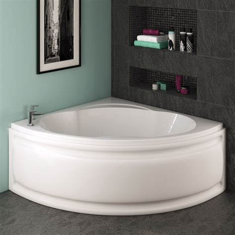 1200 shower bath trojan laguna corner bath 1200 x 1200mm with panel at
