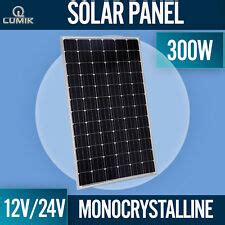 300w 24v Solar Panel by Solar Panels Ebay