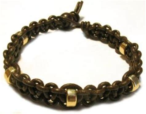 make leather jewelry leather bracelet