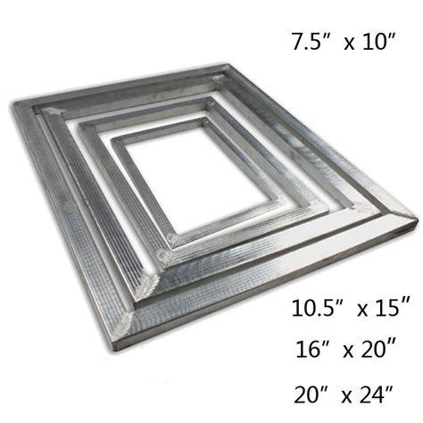 Supplier Frame Presisi Sablon 80x60 screen printing aluminum frame diy screen frame blacnk frame tool 4 size ebay