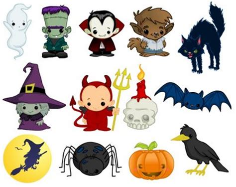 Printable Pictures Of Halloween Characters | the scary walk kids party game ladies kitty
