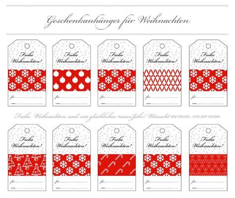 Geschenk Etiketten Drucken Kostenlos by Free Tags Quot Frohe Weihnachten Quot Zum