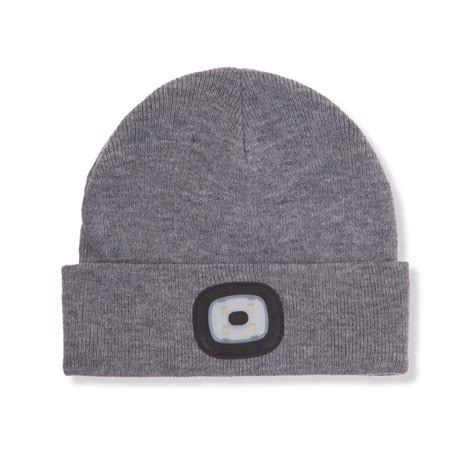Beanie Hat With Led Light Object