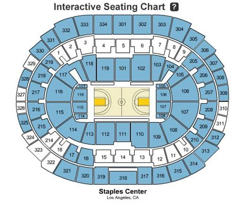 lakers seating staples center lakers seating chart the ultimate staples