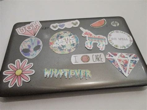 Diy Laptop Stickers