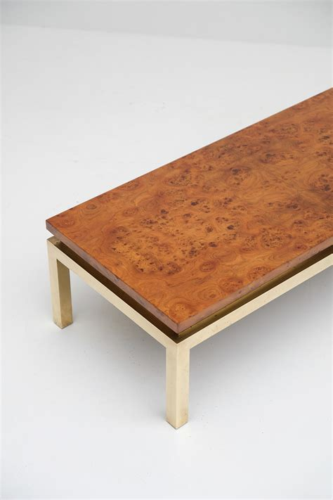 Burl Wood Coffee Table Burl Wood Coffee Table 1970s For Sale At Pamono