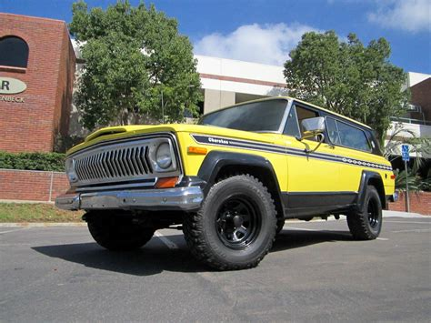 1977 jeep chief 1977 jeep chief for sale classiccars com cc
