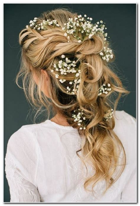 Half Up Half Wedding Hairstyles For Length Hair by Wedding Hairstyles Half Up Half Medium Length New