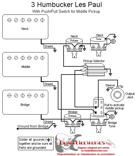 les paul 3 wiring diagram wiring diagram and