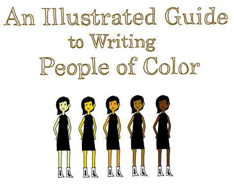person of color an illustrated guide to writing of color