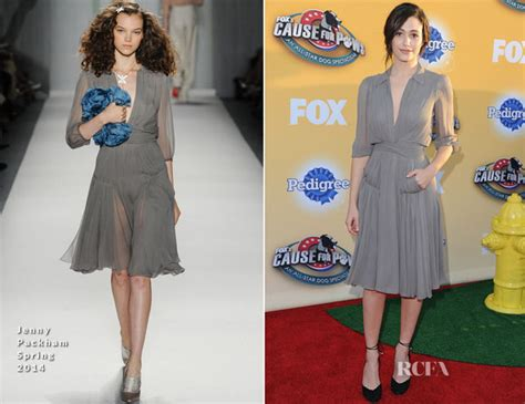 Catwalk To Carpet Emmy Rossum by Emmy Rossum In Packham Fox S Cause For Paws An