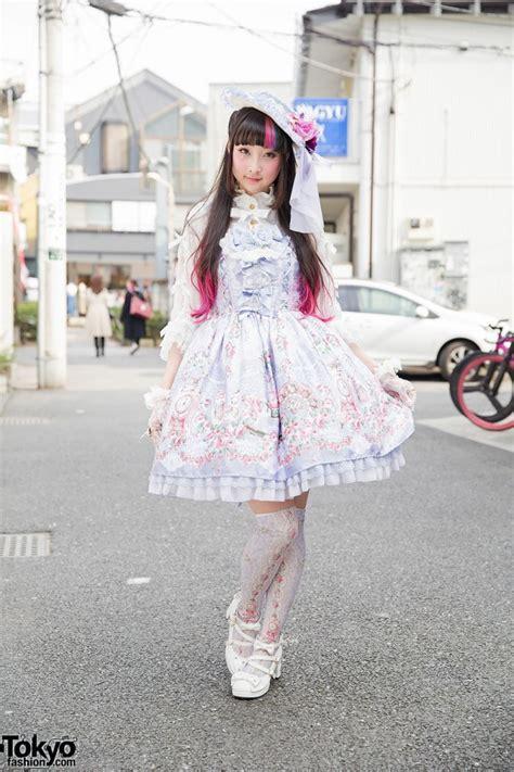 Pretty Wardrobe by Rinrin Doll Wearing Angelic Pretty Fashion In Harajuku