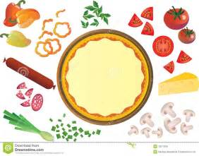 pizza ingredients clipart clipartsgram com
