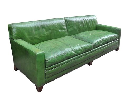 green leather sofa 1000 ideas about leather sofas on pulaski
