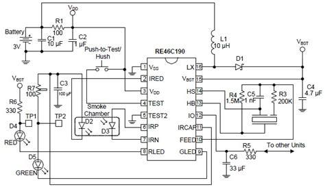 Simple Floor Plan Maker Free smoke detector circuit