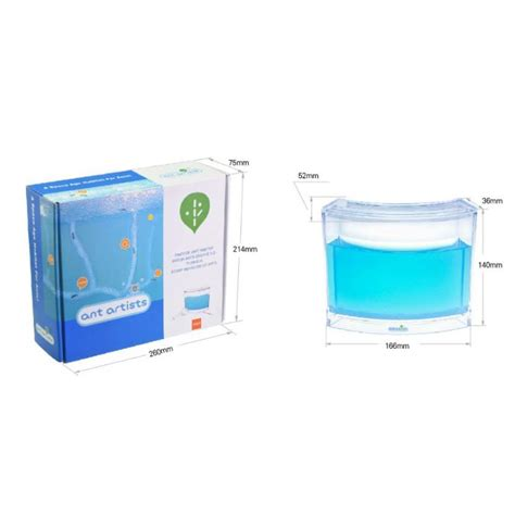 Aquarium Gel Ternak Semut 110x110x110mm aquarium gel ternak semut illuminated blue jakartanotebook
